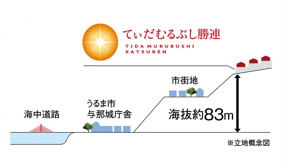 立地概念図
